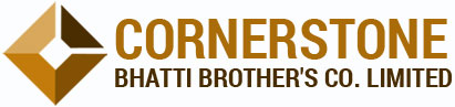 Cornerstone Bhatti Brother's Co. Limited Logo